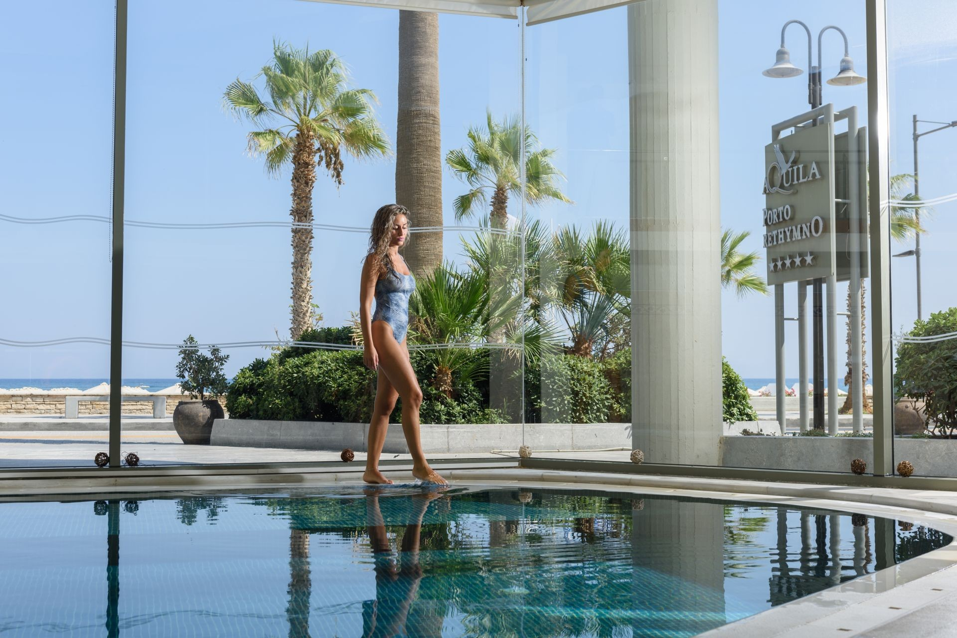 Aquila Porto Rethymno Hotel Indoor Pool 1 Hotels In Crete Aquila Hotels Resorts