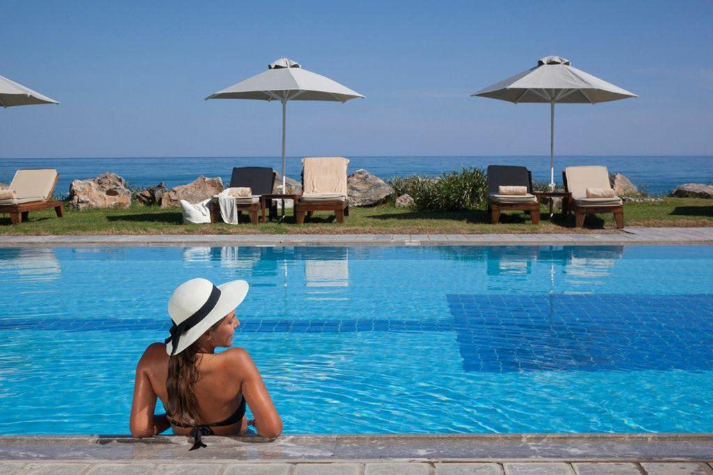 Swimming Pools Spa Rithymna Beach Hotels In Crete Aquila Resorts