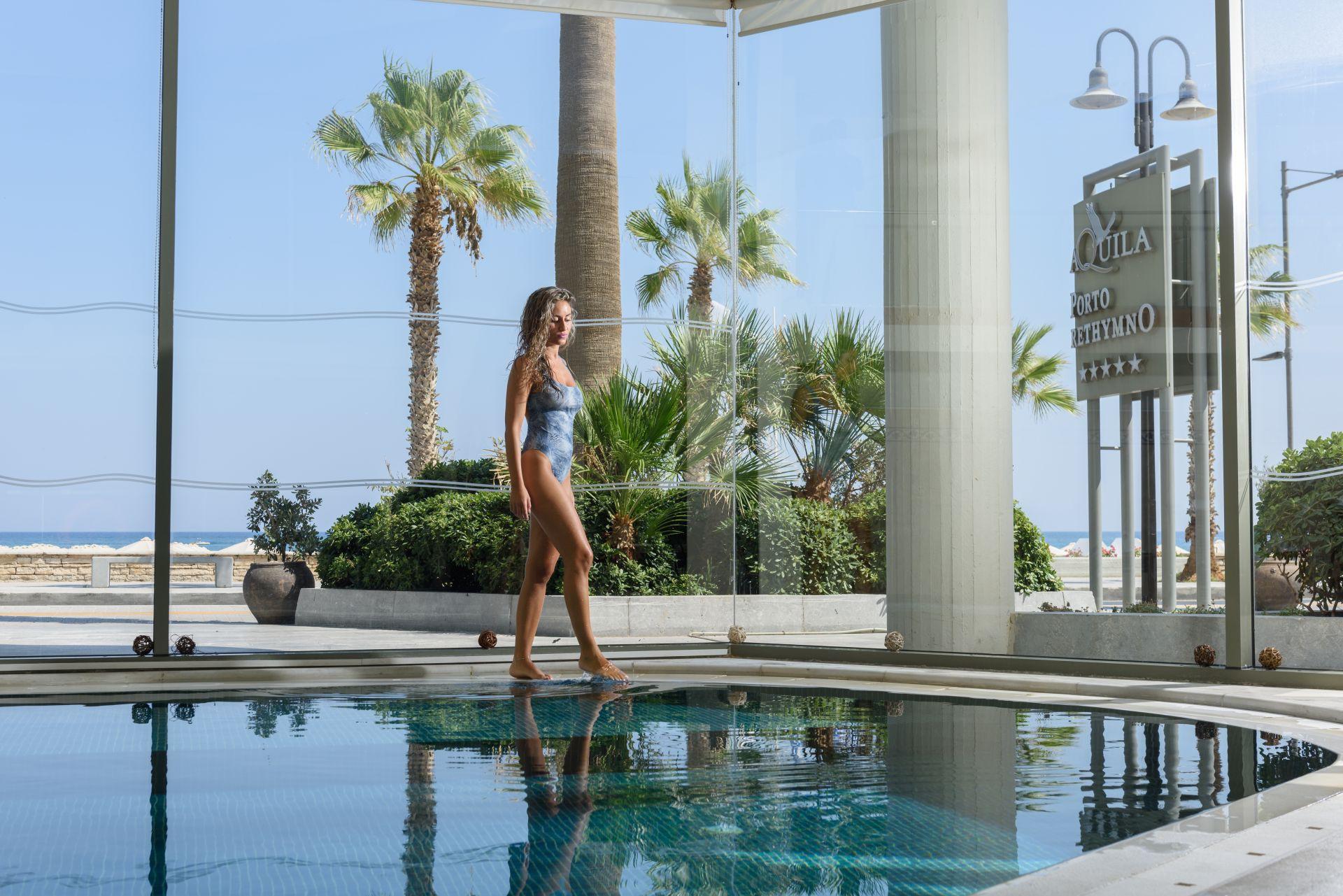 Aquila Porto Rethymno Hotel Indoor Pool Hotels In Crete Aquila Hotels Resorts